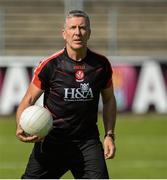 23 July 2016; Derry manager Damian Barton during their GAA Football All-Ireland Senior Championship, Round 4A, game at Kingspan Breffni Park in Co Cavan. Photo by Oliver McVeigh/Sportsfile