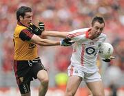 19 September 2010; Paul Kerrigan, Cork, in action against Kevin McKernan, Down. GAA Football All-Ireland Senior Championship Final, Down v Cork, Croke Park, Dublin. Picture credit: Brian Lawless / SPORTSFILE