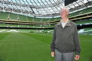 20 September 2010; Former Republic of Ireland manager Jack Charlton at the launch of Airtricity's new 'Biggest Save' campaign which will save homes a phenomenal 20% on their domestic gas rates, Aviva Stadium, Lansdowne Road, Dublin. Picture credit: David Maher / SPORTSFILE