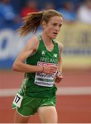 6 July 2016; Team Ireland athlete Fionnuala McCormack during the Women's 10000m final on day one of the 23rd European Athletics Championships at the Olympic Stadium in Amsterdam, Netherlands. Photo by Brendan Moran/Sportsfile