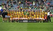 26 September 2010; The Donegal squad. TG4 All-Ireland Intermediate Ladies Football Championship Final, Donegal v Waterford, Croke Park, Dublin. Picture credit: Brendan Moran / SPORTSFILE