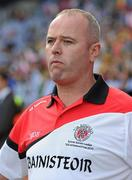 26 September 2010; Colm Donnelly, Tyrone manager. TG4 All-Ireland Senior Ladies Football Championship Final, Dublin v Tyrone, Croke Park, Dublin. Picture credit: Brendan Moran / SPORTSFILE