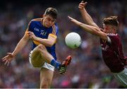 31 July 2016; Michael Quinlivan of Tipperary in action against Eoghan Kerin of Galway during the GAA Football All-Ireland Senior Championship Quarter-Final match between Galway and Tipperary at Croke Park in Dublin. Photo by Ray McManus/Sportsfile