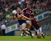 31 July 2016; Jimmy Feehan of Tipperary in action against Eoghan Kerin of Galway during the GAA Football All-Ireland Senior Championship Quarter-Final match between Galway and Tipperary at Croke Park in Dublin. Photo by Ray McManus/Sportsfile