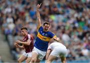 31 July 2016; Conor Sweeney of Tipperary celebrates after scoring his sides third goal during the GAA Football All-Ireland Senior Championship Quarter-Final match between Galway and Tipperary at Croke Park in Dublin. Photo by Eóin Noonan/Sportsfile