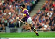 12 August 2001; Rory McCarthy, Wexford celebrates after scoring a goal. Tipperary v Wexford, Guinness All-Ireland Hurling Championship Semi-Final, Croke Park, Dublin. Picture credit; Ray McManus / SPORTSFILE