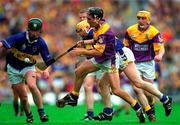 12 August 2001; Rory McCarthy, Wexford, in action against Tipperary's Paul Ormonde. Tipperary v Wexford, Guinness All-Ireland Hurling Championship Semi-Final, Croke Park, Dublin. Picture credit; Ray McManus / SPORTSFILE