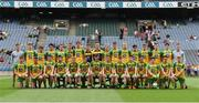 30 July 2016; The Donegal squad before the Electric Ireland GAA Football All-Ireland Minor Championship Quarter-Final match between Donegal and Cork at Croke Park in Dublin. Photo by Oliver McVeigh/Sportsfile