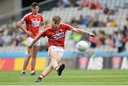 30 July 2016; Cathal O'Mahony of Cork during the Electric Ireland GAA Football All-Ireland Minor Championship Quarter-Final match between Donegal and Cork at Croke Park in Dublin. Photo by Oliver McVeigh/Sportsfile