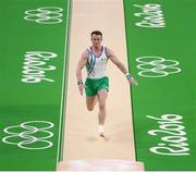3 August 2016; Kieran Behan of Ireland during a training session in the Olympic Gymnastics Arena ahead of the start of the 2016 Rio Summer Olympic Games in Rio de Janeiro, Brazil. Photo by Ramsey Cardy/Sportsfile