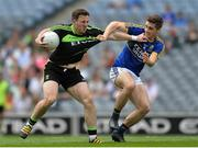 6 August 2016; Darren Coen of Mayo in action against Cathal Ó Lúing of Kerry during the GAA Football All-Ireland Junior Championship Final match between Kerry and Mayo at Croke Park, Dublin. Photo by Eóin Noonan/Sportsfile