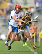 7 August 2016; Richie Hogan of Kilkenny in action against Tadhg de Búrca of Waterford  during the GAA Hurling All-Ireland Senior Championship Semi-Final match between Kilkenny and Waterford at Croke Park in Dublin. Photo by Eóin Noonan/Sportsfile