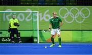 7 August 2016; Brothers Conor Harte, right and David Harte of Ireland during their Pool B match against the Netherlands at the Olympic Hockey Centre, Deodoro, during the 2016 Rio Summer Olympic Games in Rio de Janeiro, Brazil. Photo by Brendan Moran/Sportsfile