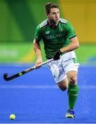 7 August 2016; Kyle Good of Ireland after their Pool B match against the Netherlands at the Olympic Hockey Centre, Deodoro, during the 2016 Rio Summer Olympic Games in Rio de Janeiro, Brazil. Photo by Brendan Moran/Sportsfile