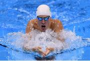9 August 2016; Nicholas Quinn of Ireland in action during the Men's 200m breaststroke heats in the Olympic Aquatic Stadium, Barra de Tijuca, during the 2016 Rio Summer Olympic Games in Rio de Janeiro, Brazil. Photo by Ramsey Cardy/Sportsfile