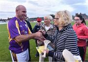 9 August 2016; Former Kilkenny player DJ Carey signs autographs after the fifth annual Hurling for Cancer Research, a celebrity hurling match in aid of the Irish Cancer Society in St Conleth's Park, Newbridge. Ireland's top GAA and horseracing stars lined out for the game, organised by horseracing trainer Jim Bolger and National Hunt jockey Davy Russell. To date the event has raised €400,000 for the Irish Cancer Society, the leading voluntary funder of cancer research in Ireland. St Conleth's Park, Newbridge, Kildare. Photo by David Maher/Sportsfile