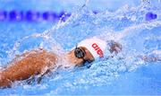 10 August 2016; Aminath Shajan of Maldives competes in the heats of the Women's 100m Freestyle at the Olympic Aquatic Stadium during the 2016 Rio Summer Olympic Games in Rio de Janeiro, Brazil. Photo by Stephen McCarthy/Sportsfile
