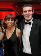 15 October 2010; Cork footballer Graham Canty with Tina Canty during the 2010 GAA All-Stars Awards, sponsored by Vodafone. Citywest Hotel & Conference Centre, Saggart, Co. Dublin. Picture credit: Oliver McVeigh / SPORTSFILE