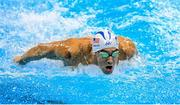 10 August 2016; Michael Phelps of USA competes in the heats of the Men's 200m Individual Medley at the Olympic Aquatic Stadium during the 2016 Rio Summer Olympic Games in Rio de Janeiro, Brazil. Photo by Ramsey Cardy/Sportsfile