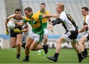 12 August 2016; Rory Corcoran, left, of Abu Dhabi Na Fianna in action against James Carroll of Middles East during Day 4 of the Etihad Airways GAA World Games 2016 at Croke Park in Dublin. Photo by Seb Daly/Sportsfile