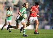 26 September 2010; Maire Flanagan, Limerick. TG4 All-Ireland Junior Ladies Football Championship Final, Louth v Limerick, Croke Park, Dublin. Picture credit: Brendan Moran / SPORTSFILE
