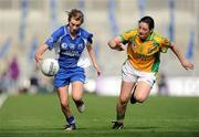 26 September 2010; Aileen Wall, Waterford, in action against Diane Toner, Donegal. TG4 All-Ireland Intermediate Ladies Football Championship Final, Donegal v Waterford, Croke Park, Dublin. Picture credit: Brendan Moran / SPORTSFILE