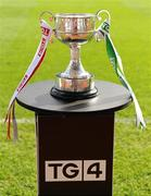 26 September 2010; A general view of the West County Hotel Cup. TG4 All-Ireland Junior Ladies Football Championship Final, Louth v Limerick, Croke Park, Dublin. Picture credit: Brendan Moran / SPORTSFILE