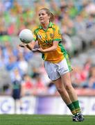 26 September 2010; Mari Herron, Donegal. TG4 All-Ireland Intermediate Ladies Football Championship Final, Donegal v Waterford, Croke Park, Dublin. Picture credit: Brendan Moran / SPORTSFILE