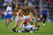 13 August 2016; Tadhg de Búrca of Waterford in action against Mark Bergin, 21, and Mark Bergin of Kilkenny j of Kilkenny of Waterford during the GAA Hurling All-Ireland Senior Championship Semi-Final Replay game between Kilkenny and Waterford at Semple Stadium in Thurles, Co Tipperary. Photo by Ray McManus/Sportsfile