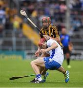 13 August 2016; Tadhg de Búrca of Waterford in action against Eóin Larkin of Kilkenny during the GAA Hurling All-Ireland Senior Championship Semi-Final Replay game between Kilkenny and Waterford at Semple Stadium in Thurles, Co Tipperary. Photo by Ray McManus/Sportsfile