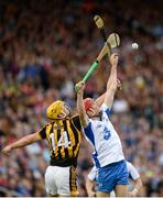 13 August 2016; Tadhg de Búrca of Waterford in action against Colin Fennelly of Kilkenny during the GAA Hurling All-Ireland Senior Championship Semi-Final Replay game between Kilkenny and Waterford at Semple Stadium in Thurles, Co Tipperary. Photo by Daire Brennan/Sportsfile