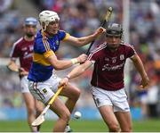 14 August 2016; Jack Canning of Galway in action against Michael Whelan of Tipperary during the Electric Ireland GAA Hurling All-Ireland Minor Championship Semi-Final game between Galway and Tipperary at Croke Park, Dublin. Photo by Ray McManus/Sportsfile