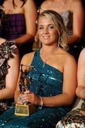 6 November 2010; 2010 Camogie All-Star award recipient Katrina Parrock, Wexford, during the 2010 Camogie All-Stars in association with O'Neills. Citywest Hotel, Saggart, Co. Dublin. Picture credit: Stephen McCarthy / SPORTSFILE
