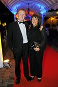 5 November 2010; Tony and Margaret Keady, in attendance at the 2010 Opel Gaelic Players Association Gala Awards for hurling and football. Citywest Hotel, Saggart, Co. Dublin. Picture credit: Alan Place / SPORTSFILE