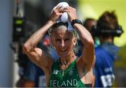 19 August 2016; Robert Heffernan of Ireland after finishing 6th in the Men's 50km Walk Final during the 2016 Rio Summer Olympic Games in Rio de Janeiro, Brazil. Photo by Stephen McCarthy/Sportsfile