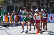 19 August 2016; Brendan Boyce of Ireland competing in the Men's 50km Walk Final during the 2016 Rio Summer Olympic Games in Rio de Janeiro, Brazil. Photo by Stephen McCarthy/Sportsfile
