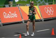 19 August 2016; Robert Heffernan of Ireland competing in the Men's 50km Walk Final during the 2016 Rio Summer Olympic Games in Rio de Janeiro, Brazil. Photo by Brendan Moran/Sportsfile