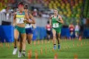 19 August 2016; Natalya Coyle of Ireland competing in the women's combined discipline of the Women's Modern Pentathlon at the Youth Arena in Deodora during the 2016 Rio Summer Olympic Games in Rio de Janeiro, Brazil. Photo by Ramsey Cardy/Sportsfile