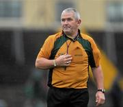 7 November 2010; Referee Haulie Beirne during the game. AIB GAA Football Connacht Club Senior Championship Semi-Final, Killererin v Ballintubber, Tuam Stadium, Tuam, Co. Galway. Picture credit: David Maher / SPORTSFILE