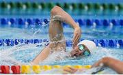 20 August 2016; Arthur Lanigan O'Keeffe of Ireland competing in the swimming round of the Men's Modern Pentathlon at the Deodora Aqiatics Centre during the 2016 Rio Summer Olympic Games in Rio de Janeiro, Brazil. Photo by Brendan Moran/Sportsfile