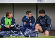 20 August 2016; Dublin mentors, from left, John McCaffrey, Alan Nolan and Danny Sutcliffe prior to the Bord Gáis Energy GAA Hurling U21 Championship Semi-Final game between Dublin v Galway at Semple Stadium in Thurles, Co Tipperary. Photo by Piaras Ó Mídheach/Sportsfile