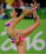 21 August 2016; The Israel team competing during the Rhythmic Gymnastics Group All-Around Final in the Rio Olympic Arena during the 2016 Rio Summer Olympic Games in Rio de Janeiro, Brazil. Photo by Ramsey Cardy/Sportsfile