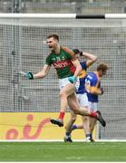 21 August 2016; Conor O'Shea of Mayo celebrates after scoring his side's second goal during the GAA Football All-Ireland Senior Championship Semi-Final game between Mayo and Tipperary at Croke Park in Dublin. Photo by David Maher/Sportsfile