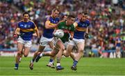 21 August 2016; Evan Regan of Mayo in action against Shane O'Callaghan, right, Alan Moloney, 17, and Martin Dunne of Tipperary during the GAA Football All-Ireland Senior Championship Semi-Final game between Tipperary and Mayo at Croke Park in Dublin. Photo by Ray McManus/Sportsfile