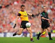 19 September 2010; Danny Hughes, Down. GAA Football All-Ireland Senior Championship Final, Down v Cork, Croke Park, Dublin. Picture credit: Dáire Brennan / SPORTSFILE