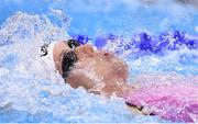7 August 2016; Anastasia Fesikova of Russia competes in the semi-final of the Women's 100m Backstroke at the Olympic Aquatic Stadium during the 2016 Rio Summer Olympic Games in Rio de Janeiro, Brazil. Photo by Stephen McCarthy/Sportsfile