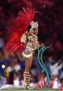 21 August 2016; Performers during the closing ceremony of the 2016 Rio Summer Olympic Games at the Maracanã Stadium in Rio de Janeiro, Brazil. Photo by Ramsey Cardy/Sportsfile