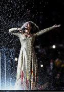 21 August 2016; Mariene De Castro performs during the closing ceremony of the 2016 Rio Summer Olympic Games at the Maracanã Stadium in Rio de Janeiro, Brazil. Photo by Ramsey Cardy/Sportsfile