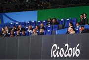 21 August 2016; IOC officials during the closing ceremony of the 2016 Rio Summer Olympic Games at the Maracanã Stadium in Rio de Janeiro, Brazil. Photo by Ramsey Cardy/Sportsfile