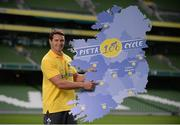 22 August 2016; Pieta 100 Cycle Ambassador and former Irish Rugby International David Wallace today at the launch of the Pieta 100 cycle at the Aviva Stadium in Dublin. The cycle, which is in its 2nd year, is supported by Aviva and has extended to 10 venues for 2016. The cycle will take place on the 25th September at venues across the country and includes both a 100km and a 50km route. For more information log on to www.pieta100cycle.com #Pieta100 Photo by Piaras Ó Mídheach/Sportsfile